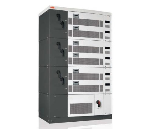 inverter solari centrallizzati abb da 134kw a 400 kw